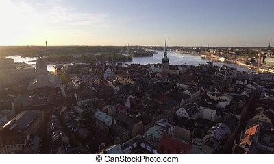 prospekt, sztokholm, miasto