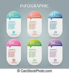 prostota, infographic, projektować