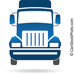 przód, logo, wizerunek, wózek