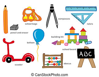 przedszkole, zabawki