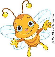 przelotny, sprytny, pszczoła