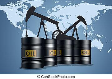 przemysł, ropa naftowa