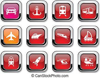 przewóz, icons.