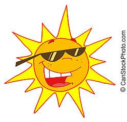 przy alozach, słońce, lato