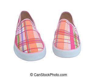 przypadkowe obuwie