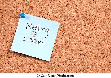 przypomnienie, spotkanie