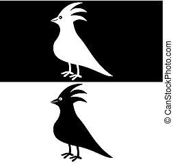 ptaszek, cień