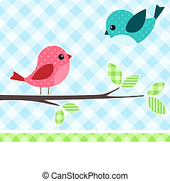 ptaszki, gałąź