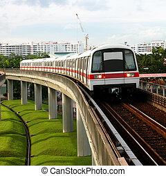 publiczny przewóz, tunel