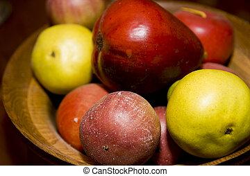 puchar owocu, sztuczny