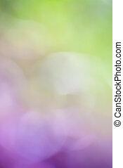 purpurowe tło, zielony, zamazany