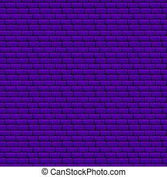 purpurowy, ściana, cegła, seamless, struktura