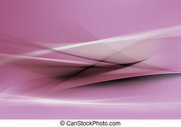 purpurowy, abstrakcyjny, tło, fale
