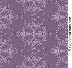 purpurowy, kwiatowy, tapeta, luksus