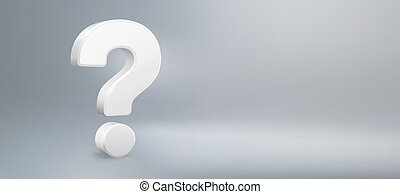 qa., wektor, pytania, pytanie, realistyczny, mieć, znak, faq, tło, mark., pytanie, ilustracja, 3d