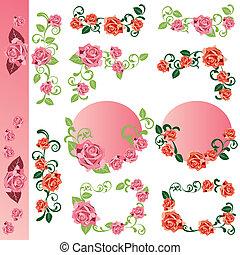 róża, wystawiany zamiar, elementy