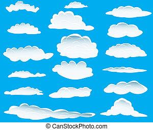 różny, chmury