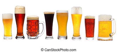 różny, komplet, piwo