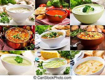różny, zupy