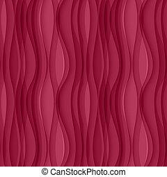 różowy, falisty, seamless, tło, texture.