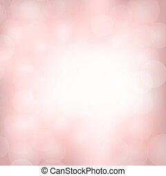 różowy, lekki, tło, zamazany