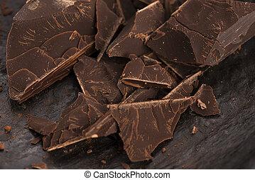 rąbany, czekolada