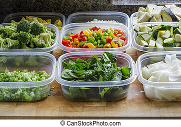 rąbany, warzywa