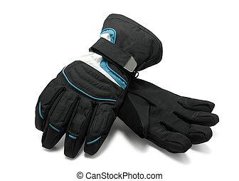 rękawiczki narty