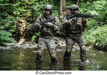 radiopelengatory, armia, góry