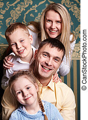 radość, rodzina