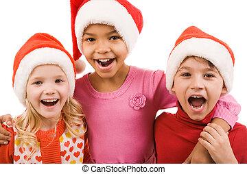 radosny, dzieci