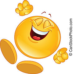 radosny, emoticon