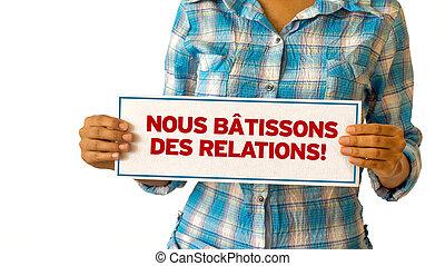 realationships, my, budować, french), (in