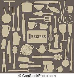 recepty, ilustracja