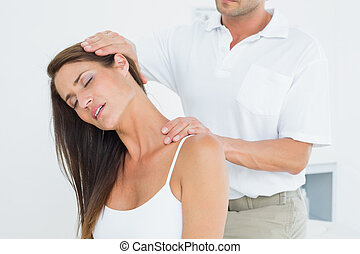 regulować, samiec, kręgarz, szyja