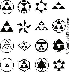 religijny, różny, symbolika
