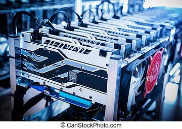 reputacja, górnictwo, bitcoin, urządzenia, row.