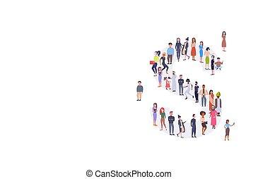 reputacja, prąd, zebranie, pojęcie, grupa, tłum, ludzie, alfabet, mężczyźni, długość, razem, businesspeople, zmieszać, formułować, pełny, litera, angielski, s, poziomy, przypadkowy, kobiety