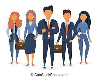 reputacja, suit., grupa, handlowy zaprzęg