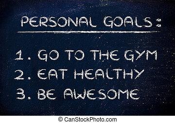 resolutions:, stosowność, sala gimnastyczna, nowy rok