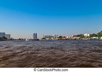 river., phraya, chao