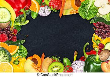roślina, ułożyć, owoc