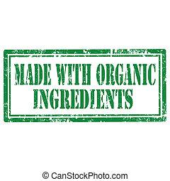 robiony, składniki, organiczny