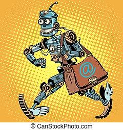 robot, opancerzanie, automatyczny