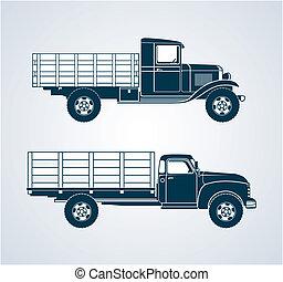 rocznik wina, owoc, ciężarówki