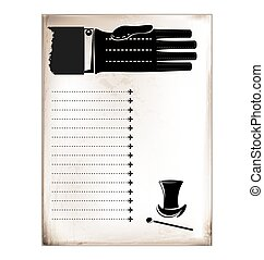 rocznik wina, samiec, karta ręka