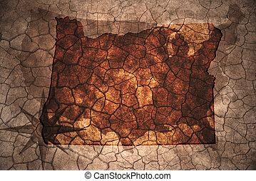 rocznik wina, stan, oregon mapa