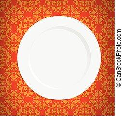 rocznik wina, tablecloth, opróżniać, płyta