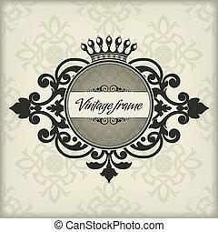 rocznik wina, ułożyć, korona