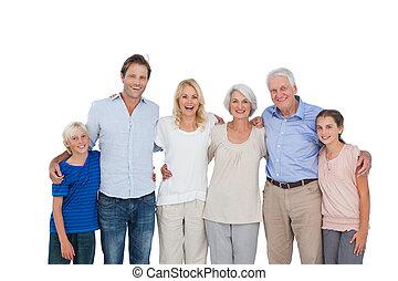 rodzina, przewlekły, gesturing